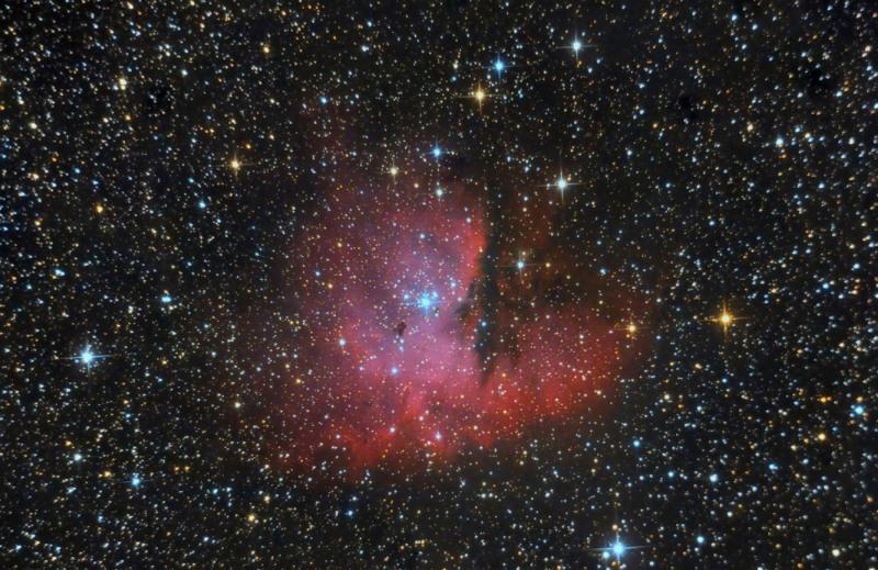 Pacman-Nebula